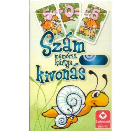 Kivonás oktató memória kártyajáték - Cartamundi