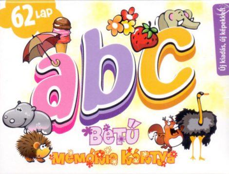 ABC betű memória kártyajáték -  Cartamundi