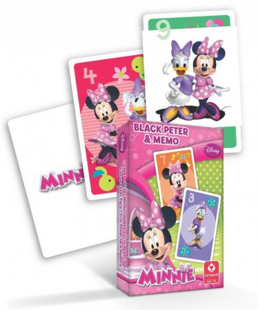 Minnie egér  Fekete Péter és memória kártyajáték - Cartamundi