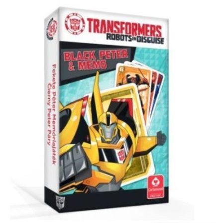 Transformers Fekete Péter és memória kártyajáték - Cartamundi