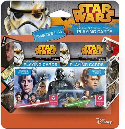 Star Wars Episode I-VI dupla kártya - Cartamundi
