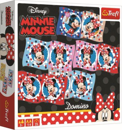 Disney Minnie egér dominó Trefl
