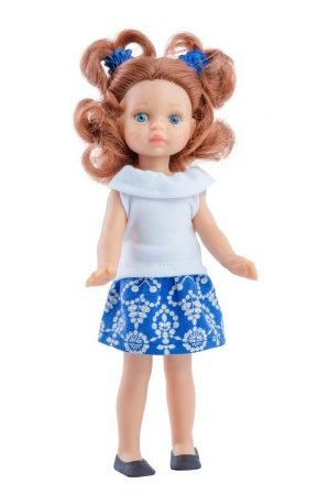 Játék hajasbaba Triana nyári ruhában 21cm Paola Reina