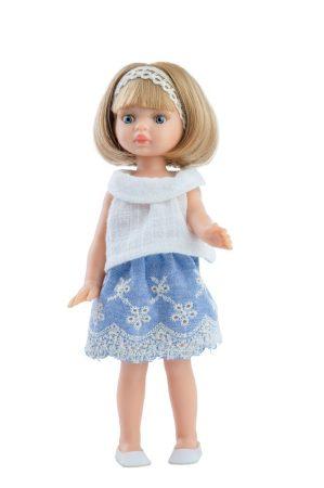 Játék hajasbaba Martina nyári ruhában 21cm Paola Reina