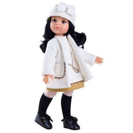 Játék nagykereskedés - Carina fekete hajú Játékbaba