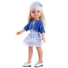 Játékbaba nagykereskedés - Játékbaba hajas baba Manica Paola Reina