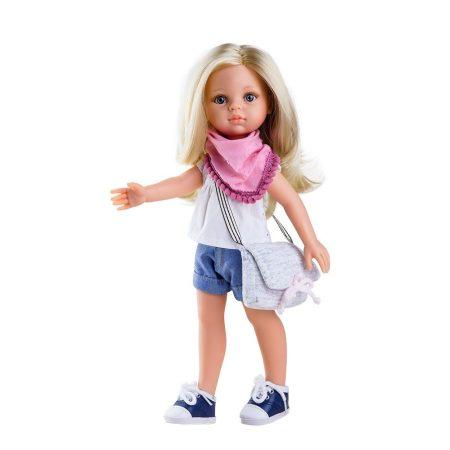 Játékbaba nagykereskedés - Játékbaba hajas baba Claudia Paola Reina 32 cm