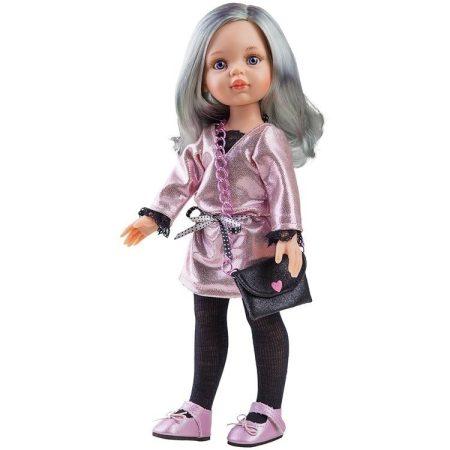 Játékbaba Paola Reina Carol 32 cm Ezüst