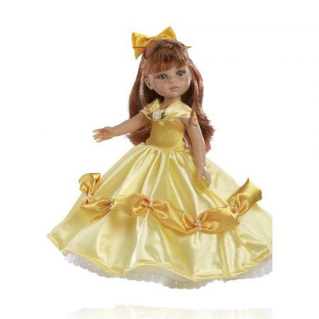 Játékbaba nagykereskedés - Játékbaba hajas baba Cristi hercegnő Amarilla Paola Reina