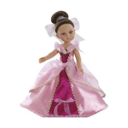 Játékbaba nagykereskedés - Játékbaba hajas baba Carol hercegnő Fuxia Paola Reina