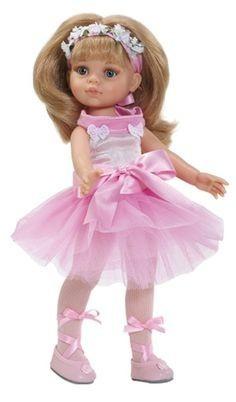 Játékbaba nagykereskedés - Játékbaba hajas baba Carla balerina Paola Reina