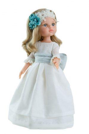 Játék hajasbaba Carla ünneplő ruhában 32cm Paola Reina