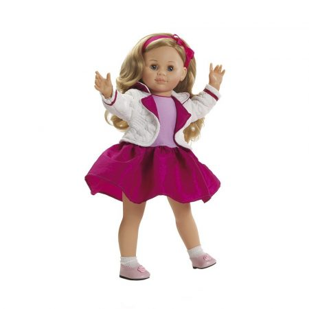 Játék nagykereskedés - Isa szőke hajú Játékbaba