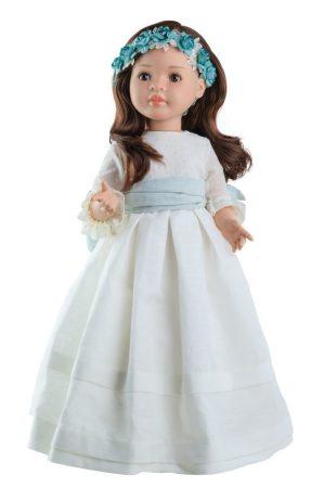 Játék hajasbaba Lidia ünneplő ruhában 60cm Paola Reina