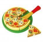 Fa Játék szeletelhető étel - Pizza papír dobozban