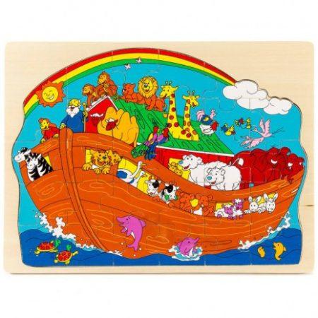 Fa Puzzle 29 db-os (Noé bárkája)