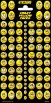 Smiley matrica 102x200mm Funny Products