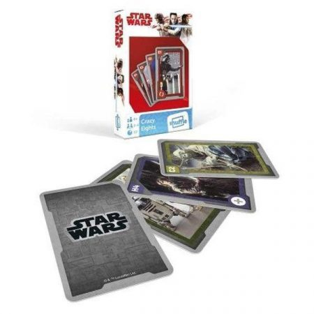 Star Wars Crazy Eight játékkártya - Cartamundi