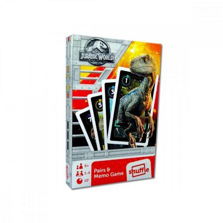 Jurassic World, Fekete Péter és memória kártyajáték - Cartamundi