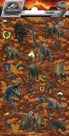 Jurassic Word Dinoszauruszos matrica 102x200mm Funny Products