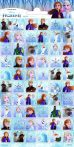 Frozen II matrica 102x200mm Funny Products