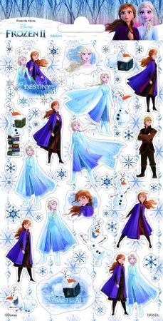 Frozen II. matrica 102x200mm Funny Products