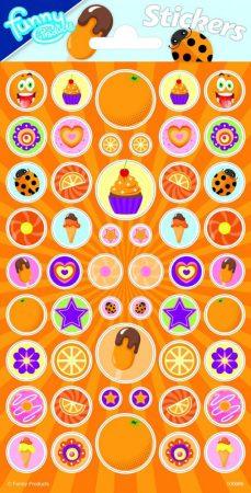 Illatos matrica 102x200mm narancs illattal Funny Products