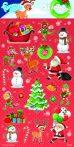 Karácsonyi matrica 102x200mm Funny Products