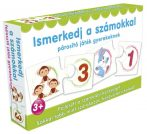 Ismerkedj a számokkal fejlesztő játék gyerekeknek