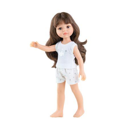 Játék hajasbaba Carol pizsamában 32cm Paola Reina
