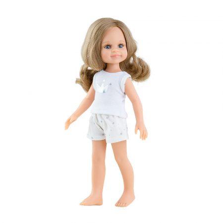 Játék hajasbaba Cleo pizsamában 32cm Paola Reina