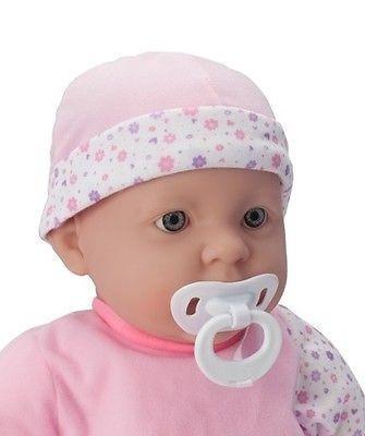 Játékbaba nagykereskedés -  Berenguer újszülött lány karakterbaba virágos ruhában