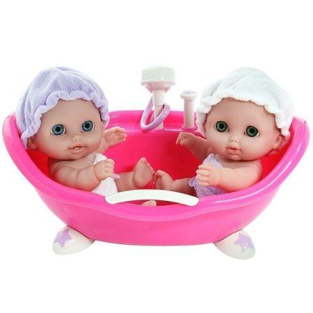 Berenguer Lil' játékbabák fürdetőkádban