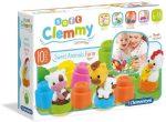 Clemmy Farmos könyv és építőkocka szett - Clementoni