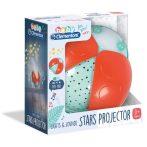 Bug Projector - Csillagos vetítő babáknak - Clementoni