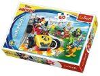 Mickey egér Verseny a barátokkal  60 db-os puzzle Trefl