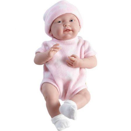 Játékbaba nagykereskedés - Berenguer karakterbaba rózsaszín 38 cm