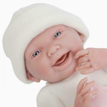 Játékbaba nagykereskedés -  Berenguer újszülött lány karakterbaba sárga ruhában