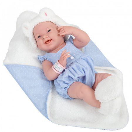 Berenguer élethű baba - lány cicával 38 cm JC Toys