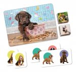 4in1 puppies Puzzle - Clementoni
