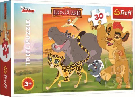 Az Oroszlán őrség puzzle 30 db-os Trefl