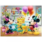 Minnie-Mickey Szülinapi torta 30 db-os puzzle Trefl