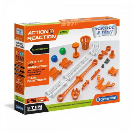 Action & Reaction Refill set 1 Golyópálya kiegészítő Clementoni