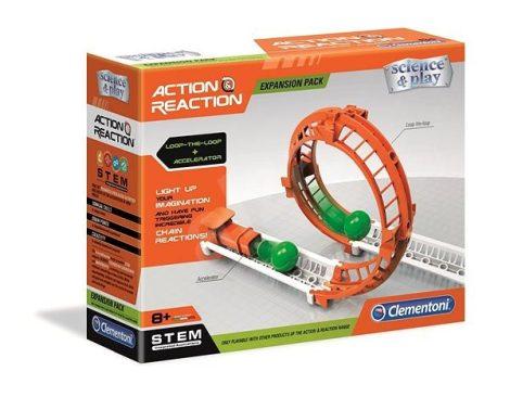 Action & Reaction pályaszetthez hurok kiegészítő Clementoni