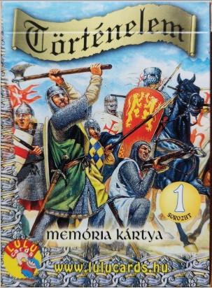 Memória kártya történelem 1. - Cartamundi