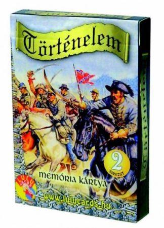 Memória kártya történelem 2. -Cartamundi