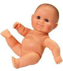 Játékbaba nagykereskedés - Játékbaba műanyag meztelen lány