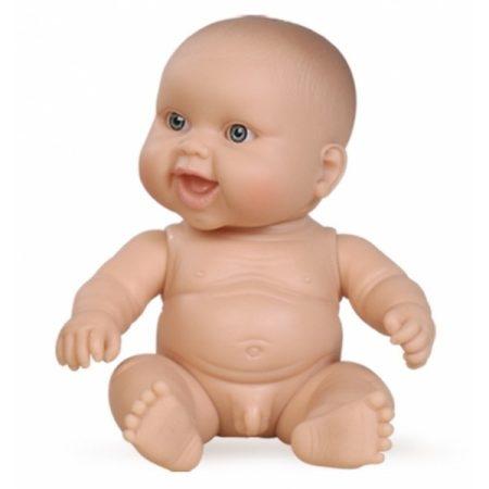Játékbaba nagykereskedés - Játékbaba műanyag meztelen fiú Paola Reina