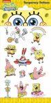 Spongya Bob - Gyerek tetoválás matrica - Funny Products