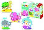 Mélytenger Baby puzzle táskában 4 mm vastag Trefl